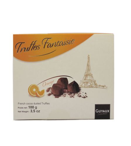 Truffes Fantaisie mit kandierter Orange